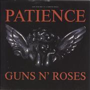 Click here for more info about 'Guns N Roses - Patience - P/S'