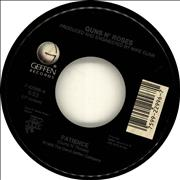 "Guns N Roses Patience USA 7"" vinyl"
