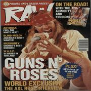 Click here for more info about 'Guns N Roses - Raw No.136'