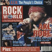 Click here for more info about 'Guns N Roses - Rock World - October 1992'