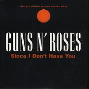 Click here for more info about 'Guns N Roses - Since I Don't Have You - Orange'