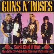 Click here for more info about 'Guns N Roses - Sweet Child O Mine + Sleeve - EX'