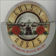 """Guns N Roses Sweet Child O Mine - Revolving Sleeve UK 10"""" vinyl"""