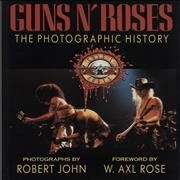 Guns N Roses The Photographic History UK book