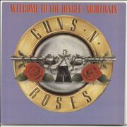 Click here for more info about 'Guns N Roses - Welcome To The Jungle - Lilac P/S'