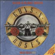 Click here for more info about 'Guns N Roses - Welcome To The Jungle - Poster sleeve - EX'