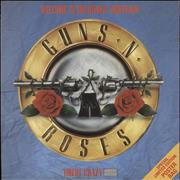 Click here for more info about 'Guns N Roses - Welcome To The Jungle - Poster sleeve'