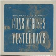Click here for more info about 'Guns N Roses - Yesterdays'