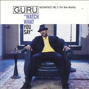 Click here for more info about 'Guru - Watch What You Say'