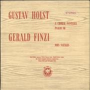 Click here for more info about 'Gustav Holst - A Choral Fantasia, Psalm 86 / Dies Natalis'