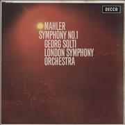Click here for more info about 'Gustav Mahler - Symphony No. 1 - NB - EX'