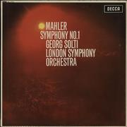 Click here for more info about 'Gustav Mahler - Symphony No. 1 - WB - EX'
