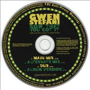 Click here for more info about 'Gwen Stefani - Now That You Got It'