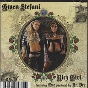 Click here for more info about 'Gwen Stefani - Rich Girl'