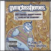 Click here for more info about 'Gym Class Heroes - As Cruel As School Children - 15 tracks'
