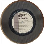 Click here for more info about 'Haircut 100 - So Tired - Silver vinyl / teastained'