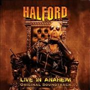 Halford Live In Anaheim UK CD album