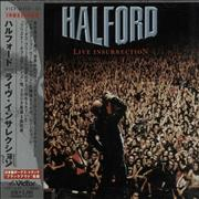 Halford Live Insurrection Japan 2-CD album set Promo