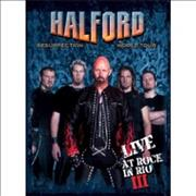 Halford Resurrection World Tour - Live At Rock In Rio III UK 2-disc CD/DVD set