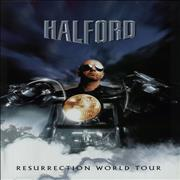 Halford Resurrection World Tour - Postergram UK tour programme