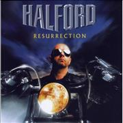 Halford Resurrection UK CD album