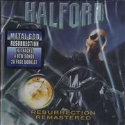 Halford Resurrection USA CD album