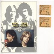 Click here for more info about 'Hall & Oates - '77 Tour + Pair of London Ticket Stubs'