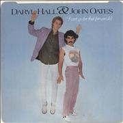Click here for more info about 'Hall & Oates - I Can't Go For That + p/s - EX'
