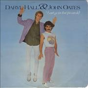 Click here for more info about 'Hall & Oates - I Can't Go For That - p/s'