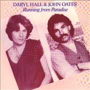 Click here for more info about 'Hall & Oates - Running From Paradise - P/S'