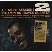 Hampton Hawes All Night Session, Vol. 2 - stickered shrink USA vinyl LP