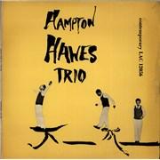 Hampton Hawes Hampton Hawes Vol. 1 - The Trio UK vinyl LP