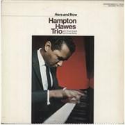 Hampton Hawes Here And Now Japan vinyl LP