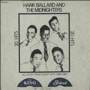 Click here for more info about 'Hank Ballard - 20 Hits: All 20 Of Their Chart Hits (1953-1962)'