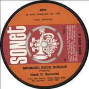 Click here for more info about 'Hank C. Burnette - Spinning Rock Boogie - 4pr'