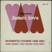 Click here for more info about 'Hank Jones - Here's Love'