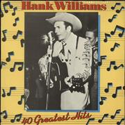 Click here for more info about 'Hank Williams - 40 Greatest Hits - yellow label'
