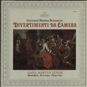Click here for more info about 'Giovanni Battista Bononcini: Divertimenti Da Camera'