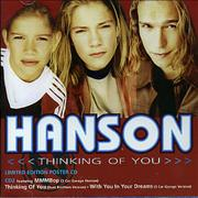Click here for more info about 'Hanson - Thinking Of You - CD2'