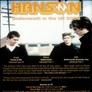 Click here for more info about 'Hanson - Underneath - Set Of Two Handbills'