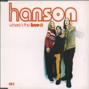 Click here for more info about 'Hanson - Where's The Love - CD1'