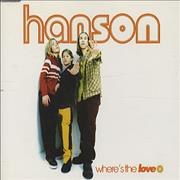 Click here for more info about 'Hanson - Where's The Love'