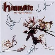 Click here for more info about 'Happylife - The Way You Hate Me - Fully Autographed'