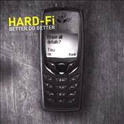 Click here for more info about 'Hard-Fi - Better Do Better'