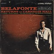 Click here for more info about 'Harry Belafonte - Belafonte Returns To Carnegie Hall - EX'