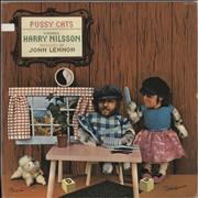 Harry Nilsson Pussy Cats USA vinyl LP