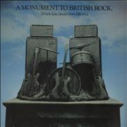 Click here for more info about 'Harvest Label - A Monument To British Rock - EX'