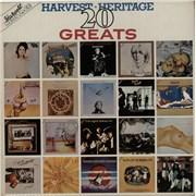 Harvest Label Harvest Heritage 20 Greats - Factory Sample UK vinyl LP