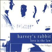 Click here for more info about 'Harvey's Rabbit - Love Is The Law'