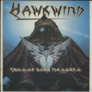 Click here for more info about 'Hawkwind - Choose Your Masques + Ticket Stub'